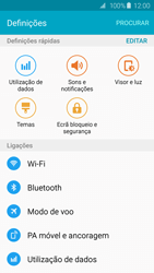 Samsung Galaxy S6 Edge - Internet no telemóvel - Como ativar os dados móveis -  4