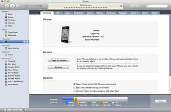 Apple iPhone 4 met iOS 5 - Software - Update installeren via PC - Stap 9