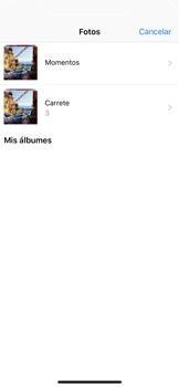 Apple iPhone X - Mensajería - Escribir y enviar un mensaje multimedia - Paso 12