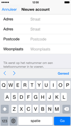 Apple iPhone 5 (iOS 8) - apps - account instellen - stap 22