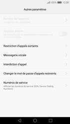 Huawei Nova - Messagerie vocale - configuration manuelle - Étape 7