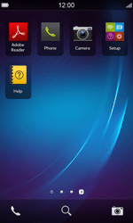 BlackBerry Z10 - Email - Manual configuration - Step 3