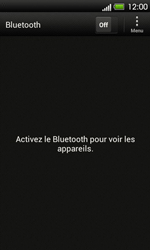 HTC T320e One V - Bluetooth - Jumeler avec un appareil - Étape 5