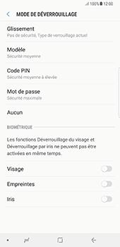 Samsung Galaxy Note 8 - Sécuriser votre mobile - Activer le code de verrouillage - Étape 6