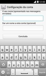 NOS LUNO - Email - Adicionar conta de email -  9