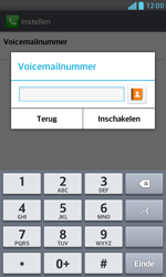 LG E975 Optimus G - Voicemail - Handmatig instellen - Stap 8