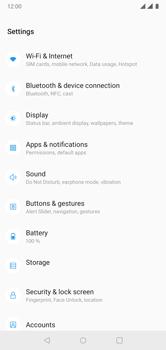 OnePlus 6 - Internet - Manual configuration - Step 4