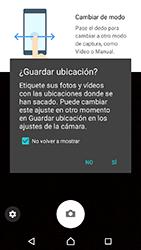 Sony Xperia XA1 - Funciones básicas - Uso de la camára - Paso 4