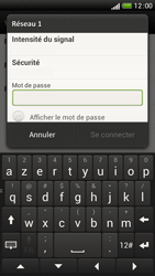 HTC One S - Internet et connexion - Accéder au réseau Wi-Fi - Étape 7