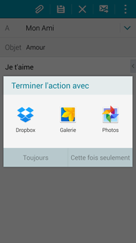 Samsung Galaxy Note 4 - E-mails - Envoyer un e-mail - Étape 12