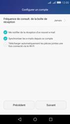 Huawei Y6 - E-mail - Configuration manuelle - Étape 18