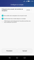 Huawei Y6 - E-mail - Configurer l