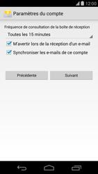 LG D821 Google Nexus 5 - E-mail - Configuration manuelle - Étape 18