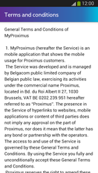 Samsung I9300 Galaxy S III - Applications - MyProximus - Step 11