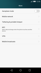 Huawei P8 Lite - Internet - Disable mobile data - Step 4