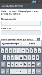 LG Optimus F5 - E-mails - Ajouter ou modifier un compte e-mail - Étape 17