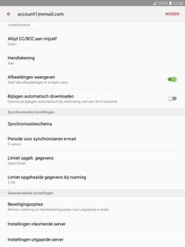 Samsung T815 Galaxy Tab S2 9.7 (SM-T815) - E-mail - Instellingen KPNMail controleren - Stap 8