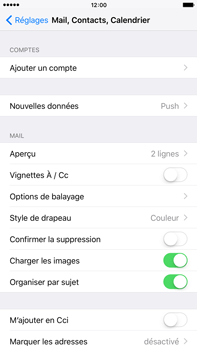 Apple iPhone 6s Plus - E-mail - Configuration manuelle - Étape 5
