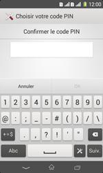 Sony Xpéria E1 Dual - Sécuriser votre mobile - Activer le code de verrouillage - Étape 9