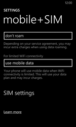 Nokia Lumia 635 - Internet - Manual configuration - Step 7