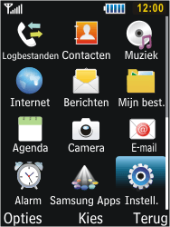 Samsung S5610 Primo - Netwerk - gebruik in het buitenland - Stap 6
