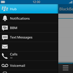 BlackBerry Q5 - Email - Sending an email message - Step 4