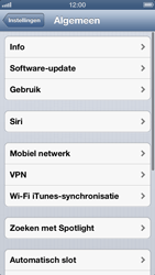 Apple iPhone 5 - Internet - aan- of uitzetten - Stap 4