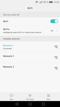 Huawei Mate 8 - Wi-Fi - Connect to a Wi-Fi network - Step 7