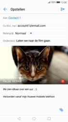 Huawei P10 Lite - E-mail - Bericht met attachment versturen - Stap 16