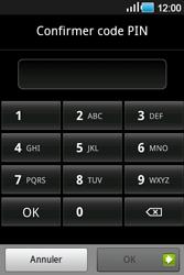 Samsung Galaxy Ace - Sécuriser votre mobile - Activer le code de verrouillage - Étape 9