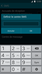 Samsung G900F Galaxy S5 - SMS - configuration manuelle - Étape 8