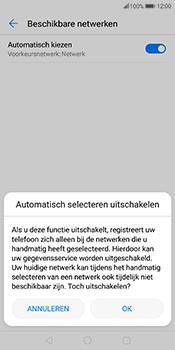 Huawei Mate 10 Pro - Netwerk - Handmatig een netwerk selecteren - Stap 7
