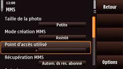 Nokia N97 Mini - MMS - Configuration manuelle - Étape 22