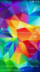 Samsung G900F Galaxy S5 - Primeros pasos - Activar el equipo - Paso 2