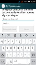 Huawei Y3 - Email - Como configurar seu celular para receber e enviar e-mails - Etapa 6