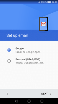Huawei Mate 8 - Email - 032a. Email wizard - Gmail - Step 8