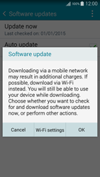 Samsung A500FU Galaxy A5 - Network - Installing software updates - Step 8