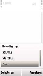 Nokia 5230 - E-mail - handmatig instellen - Stap 17
