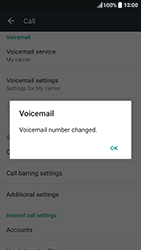 HTC HTC 10 - Voicemail - Manual configuration - Step 8