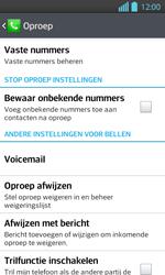 LG P710 Optimus L7 II - Voicemail - Handmatig instellen - Stap 5