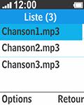 Bouygues Telecom Bc 211 - Photos, vidéos, musique - Ecouter de la musique - Étape 5
