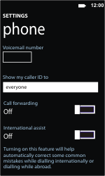 Samsung I8350 Omnia W - Voicemail - Manual configuration - Step 8