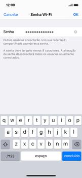 Apple iPhone X - iOS 13 - Wi-Fi - Como usar seu aparelho como um roteador de rede wi-fi - Etapa 5