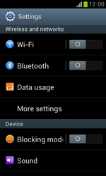 Samsung S7560 Galaxy Trend - Network - Usage across the border - Step 4