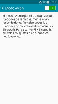 Samsung N910F Galaxy Note 4 - Funciones básicas - Activar o desactivar el modo avión - Paso 6