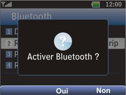 LG C360 Golf - Bluetooth - Jumeler avec un appareil - Étape 6