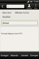 HTC A320e Desire C - E-mail - envoyer un e-mail - Étape 8