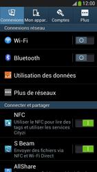 Samsung Galaxy S4 Mini - Internet et connexion - Partager votre connexion en Wi-Fi - Étape 4