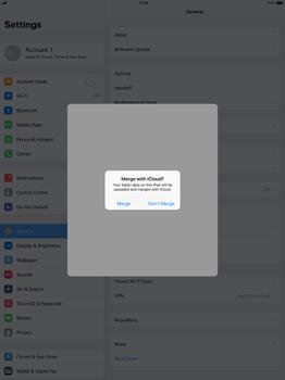 Apple Apple iPad Pro 12.9 - iOS 11 - Device maintenance - Create a backup of your data - Step 6
