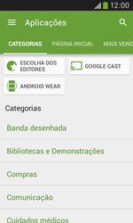 Samsung Galaxy Trend Plus - Aplicações - Como pesquisar e instalar aplicações -  6